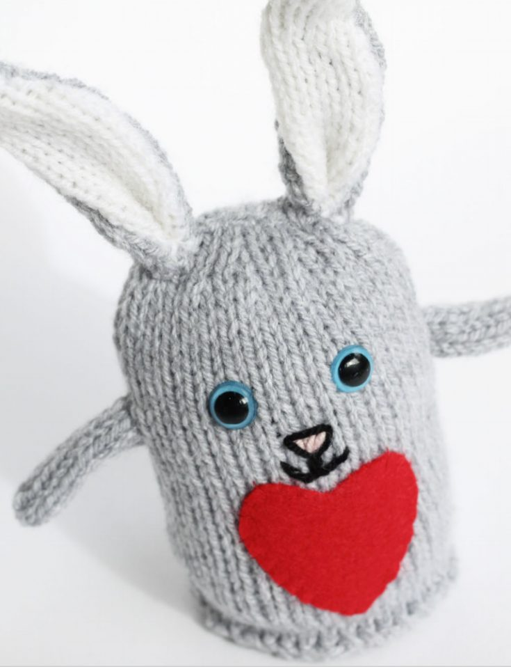 Plush Bunny Toy Pattern