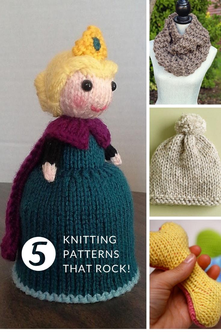 free knitting patterns that rock