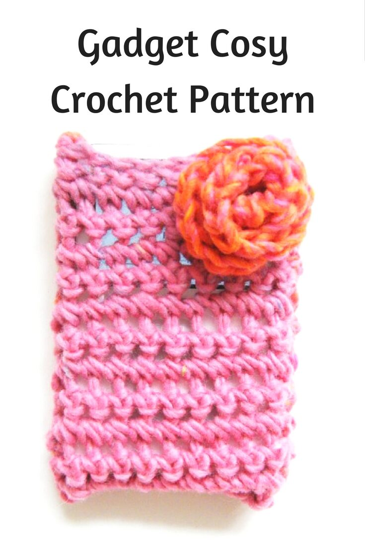 Crochet Gadget Cozy Pattern