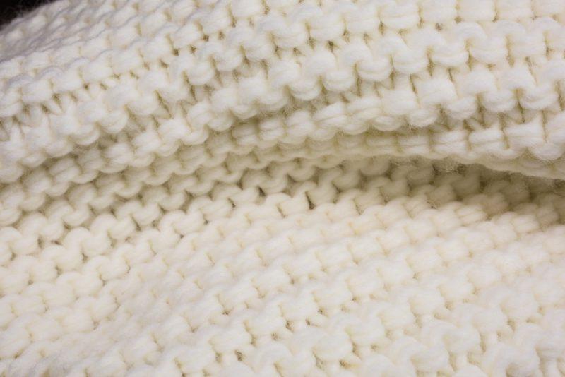 Garter stitch for beginners