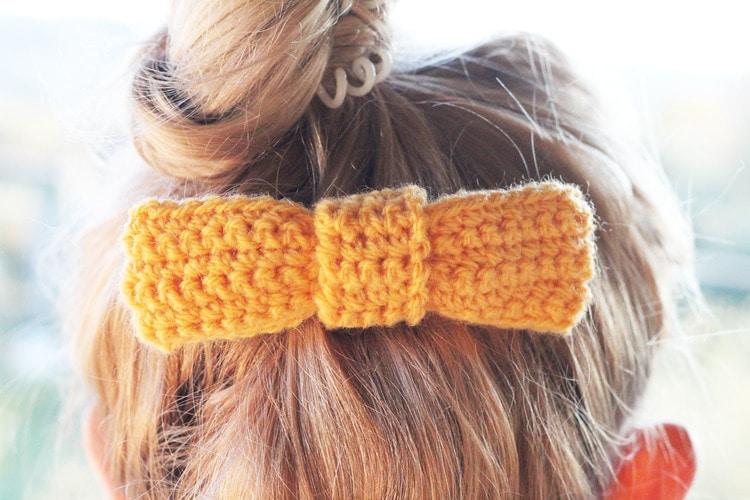 easy+DIY+crochet+hair+bow