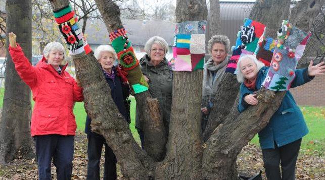 yarn bombers