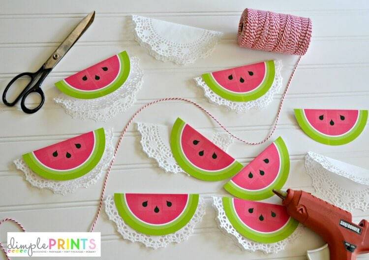 printable-watermelon-garland-from-DimplePrints-supplies
