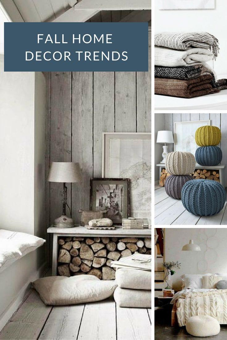 Hot fall home decor trends