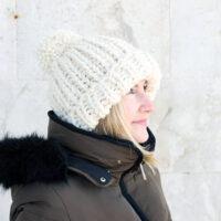 The Chloe Hat Knitting Pattern PDF Download | Handy Little Me