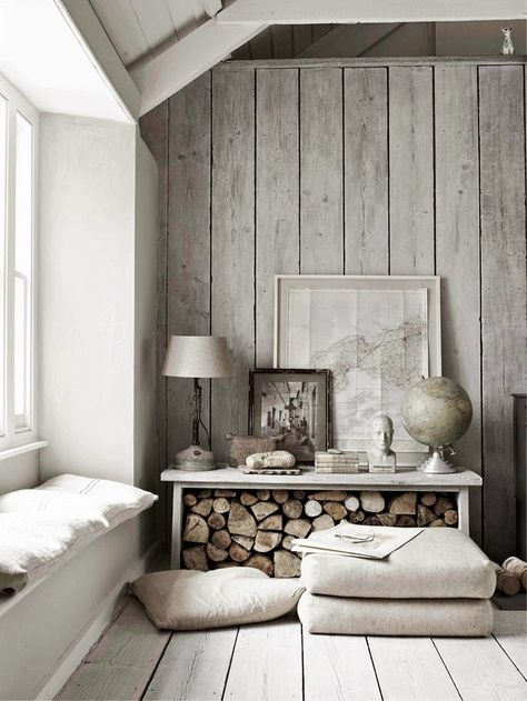 fall home decor trends including natural materials