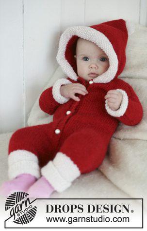 Baby-Santa-Onesie-Knitted