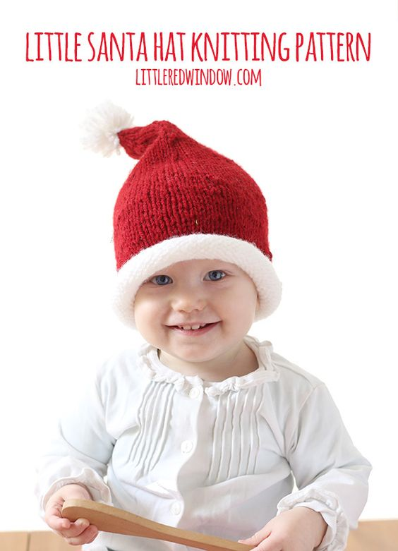 Kids-Santa-Hat-christmas-knitting