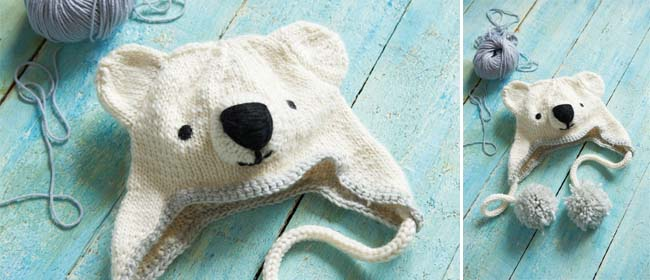 Polar-Bear-Hat-Knitting-Pattern