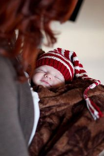 Newborn-Striped-Elf-Hat