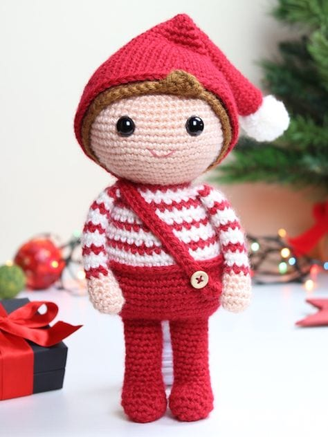 Crochet-Christmas-Elf