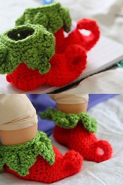 Crochet-Elf-Slippers