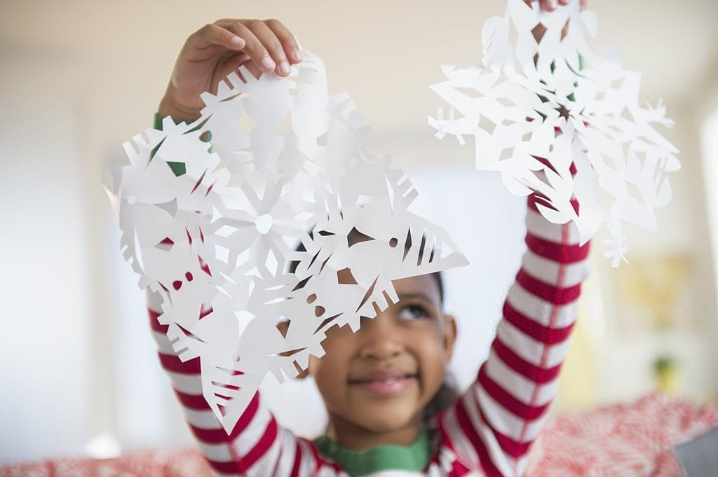 kids christmas snowflake