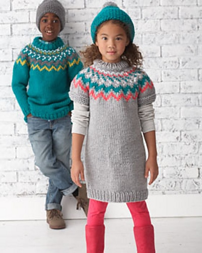 Nordic-Knit-Sweater-Pattern
