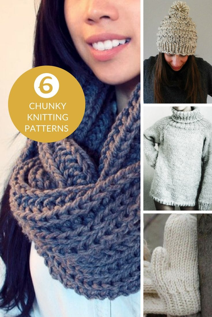 Stay Warm And Cozy With These Free Chunky Knitting Patterns Free