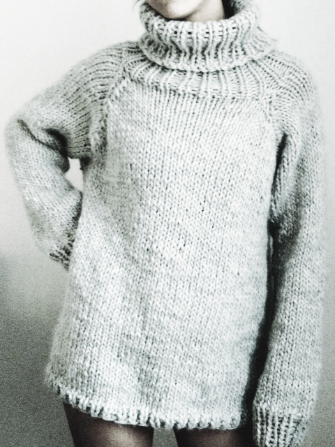 Chunky-Knit-Sweater