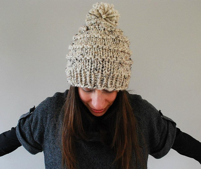 Chunky-Knit-Hat