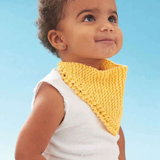 dribble bib pattern