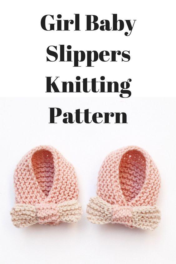 girl baby slippers