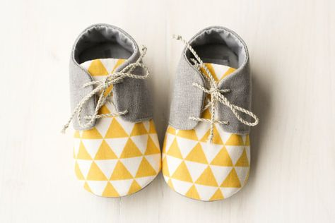 New baby printed handmade shoes