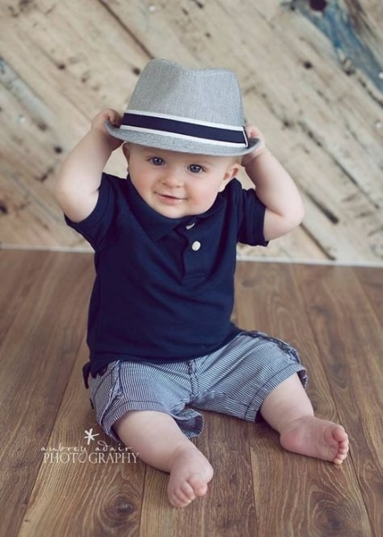 Summer baby boy outfit