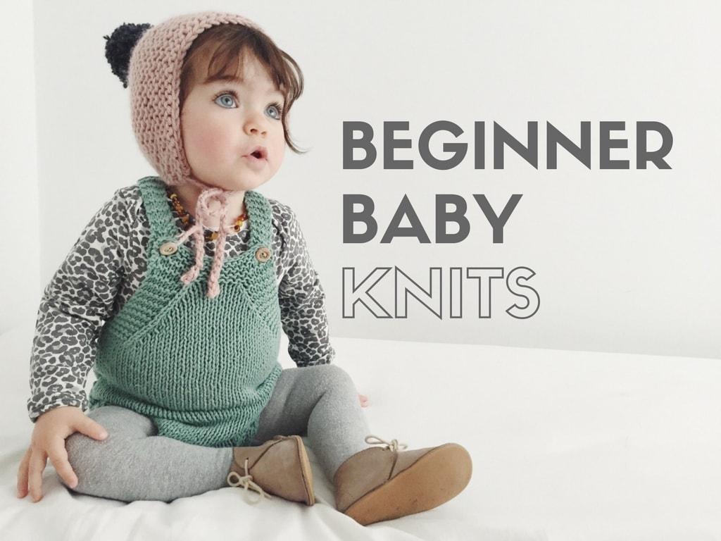 Easy beginner baby knits