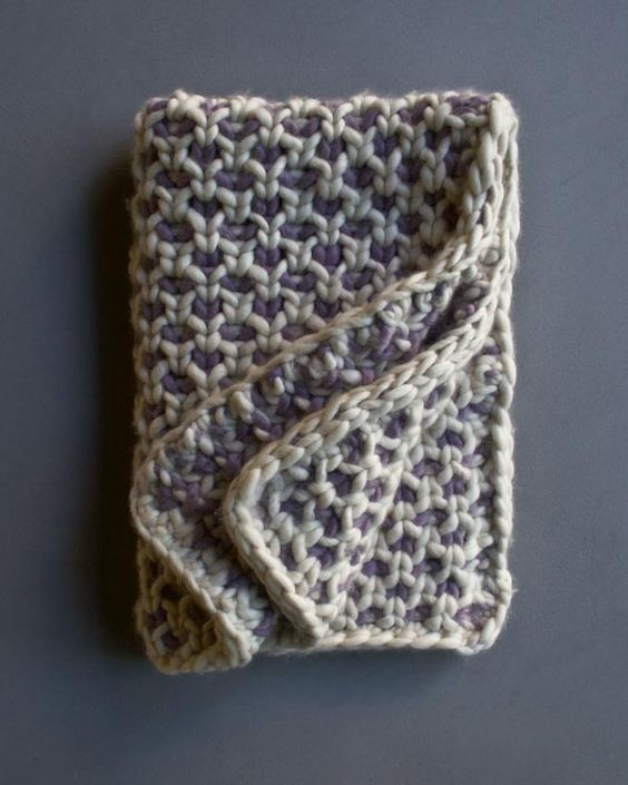 Everyone Loves Free Knitted Blanket Patterns | Handy Little Me