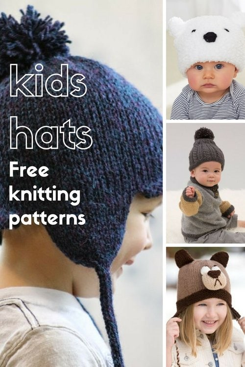kids hat patterns