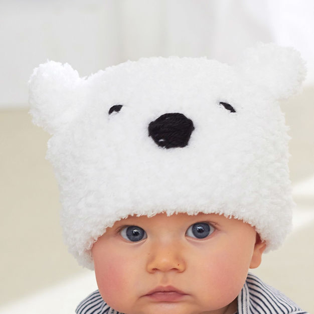 baby polar bear hat