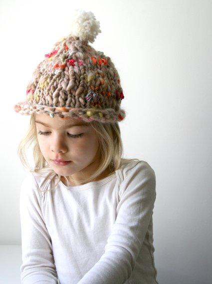 kids knit hat