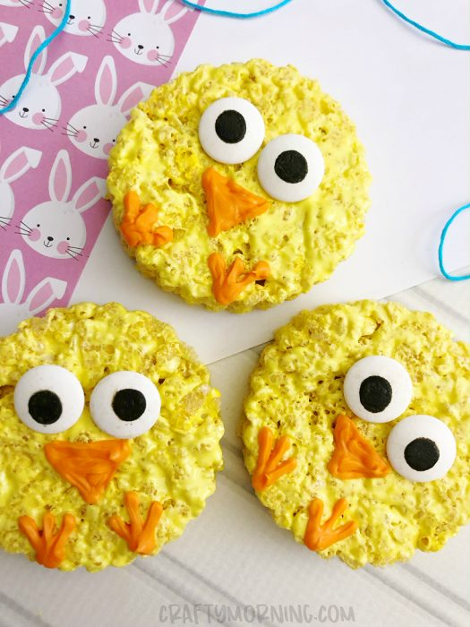 rice-krispie-easter-chicks-treat