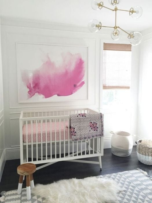 watercolours in the nursery