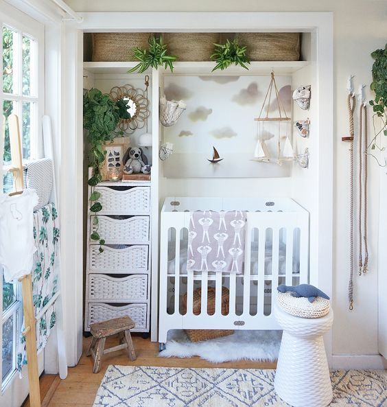 greenery in the nursery