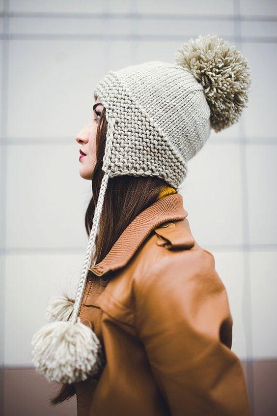 fall knit hat pattern