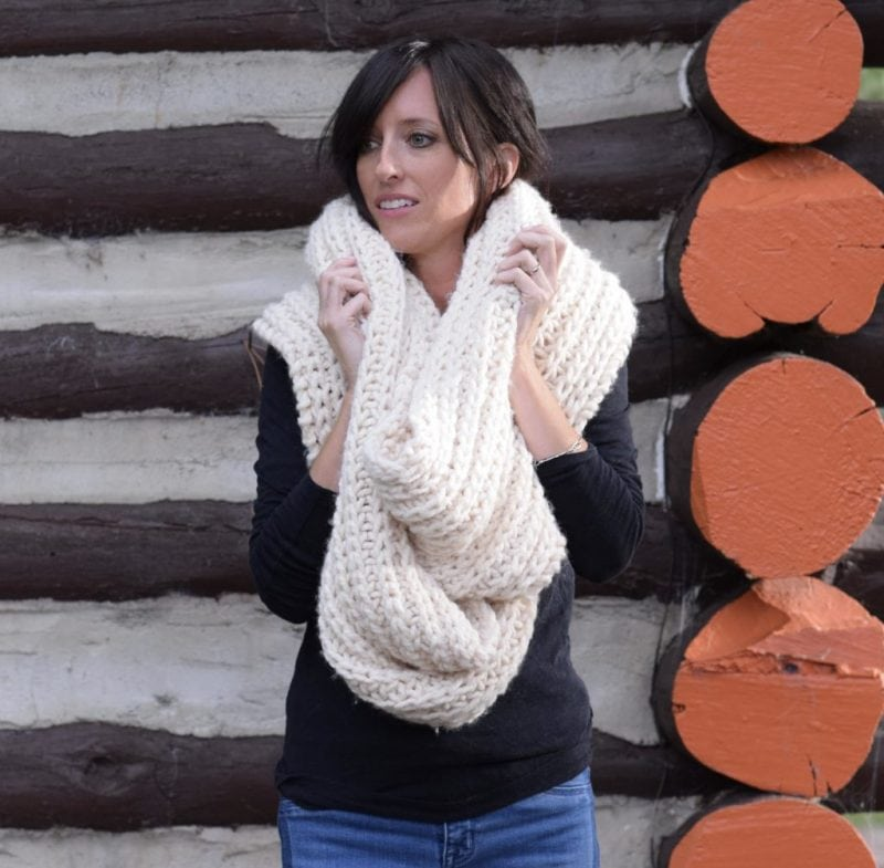Half-Fisherman-Rib-Scarf-fall-knitting-patterns