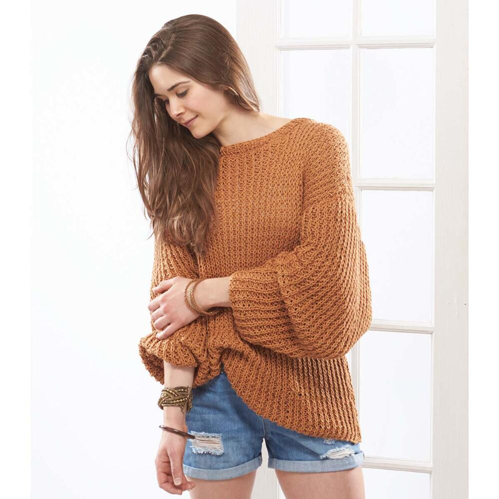 easy knit oversized sweater