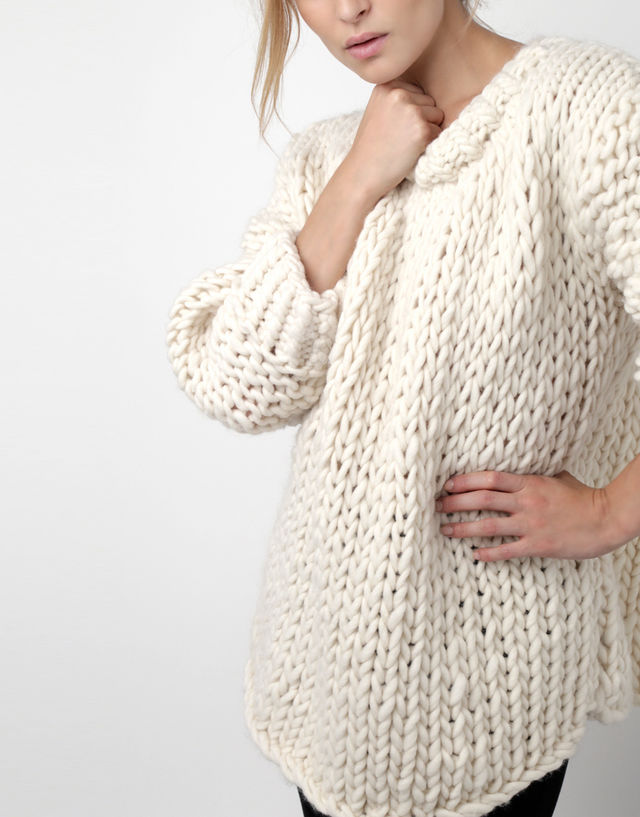 Oversized Sweater | Free Knitting Patterns | Handy Little Me