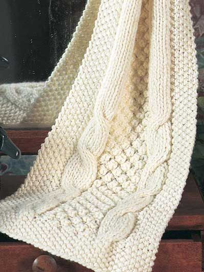 Cable-Knit-Scarf