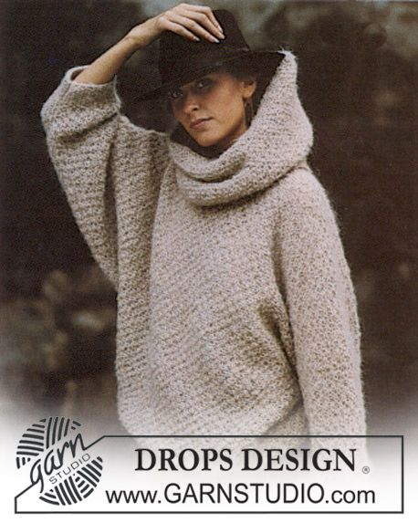 knitted oversized sweater with a large turtleneck