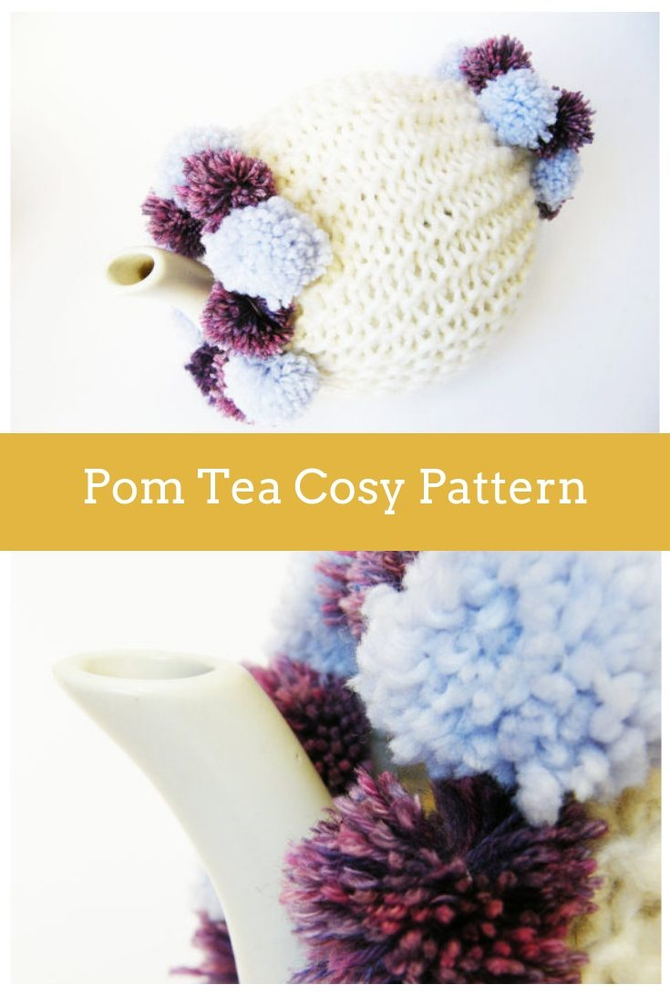 Pom Tea Cosy Knitting Pattern