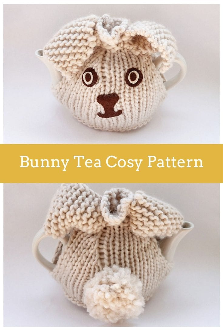 Bunny Tea Cosy Free Knitting Pattern