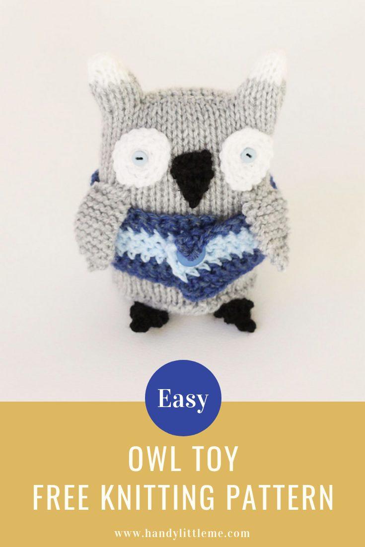owl toy free knitting pattern