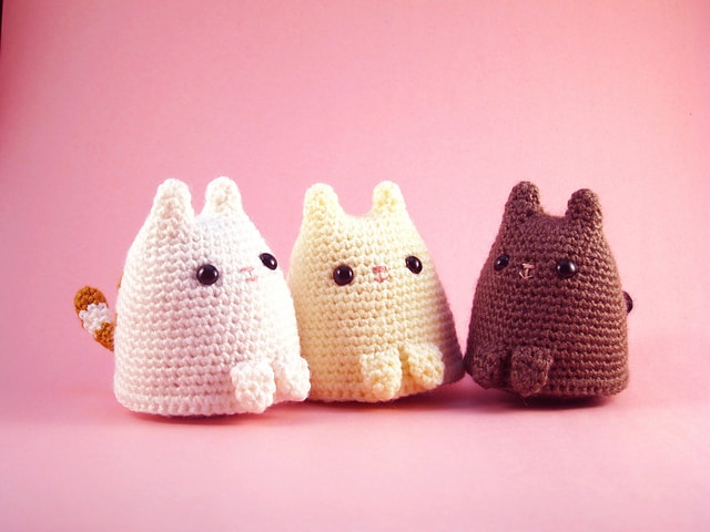 9 Awesome Crochet Cat Patterns | Free Knitting Patterns | Handy ... | 480x640