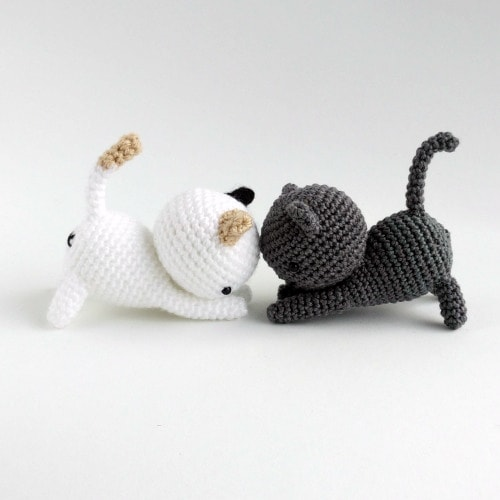 The Cutest Collection of Amigurumi Cat Patterns | 500x500