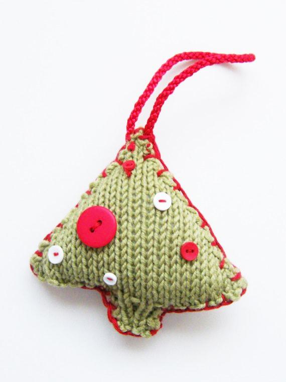 Mini Christmas Tree Knitting Pattern | Free Knitting ...