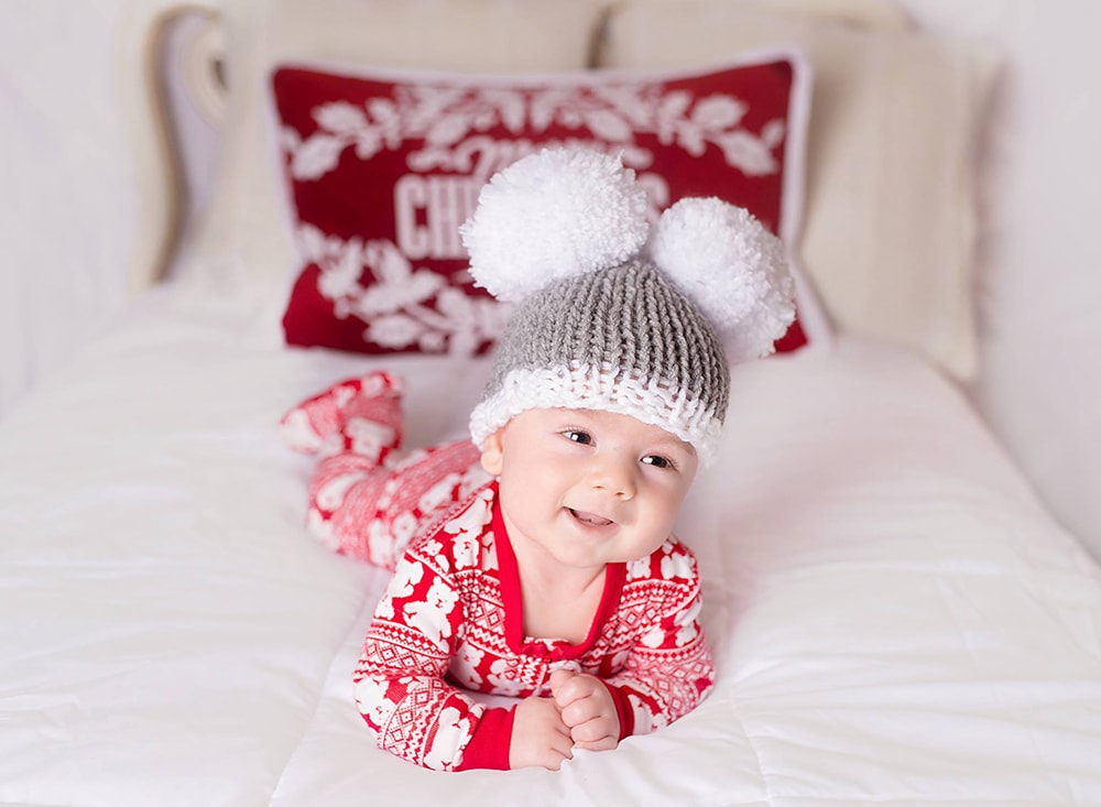 Baby holiday hat pattern