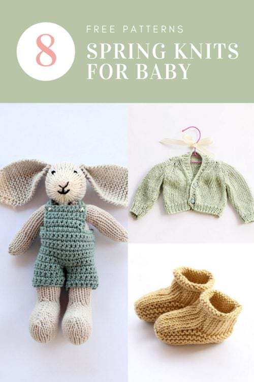 Free baby knitting patterns for spring