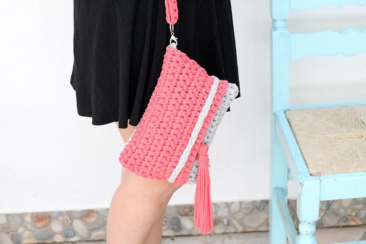 easy+crochet+bag+pattern