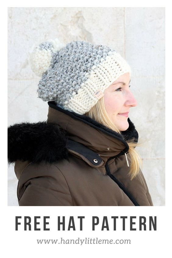 The Alexia Hat Knitting Pattern