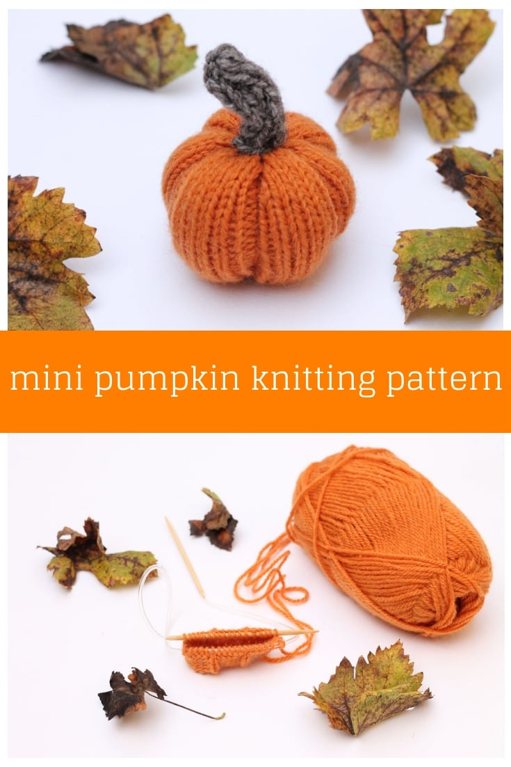 Mini Pumpkin Pattern